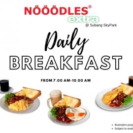 Breakfast NOOODLES extra